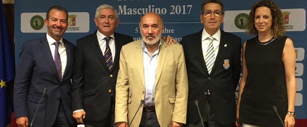 Presentación del Campeonato de España de Profesionales Masculino 2017 en Calatayud