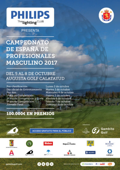 PHILIPS The Lighting Club presenta Campeonato de España de Profesionales Masculino 2017