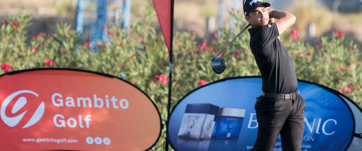 Sebastián García domina por la mínima en el Gran Premio Botanic de Sherry Golf