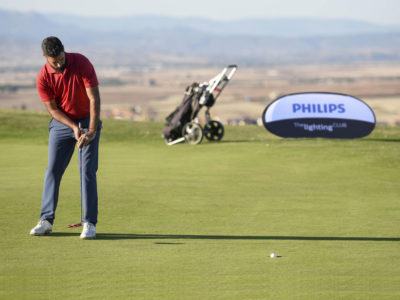 Santiago Tarrío anota -7 y produce un vuelco sorpresa en la tabla del GP Philips Lighting de Golf Retamares