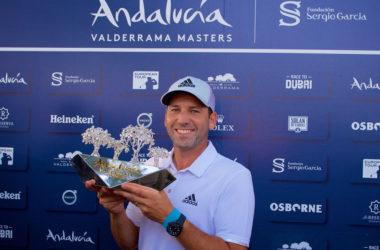 Felicitaciones al maestro Sergio García, campeón del Andalucía Valderrama Masters 2017 a lo grande