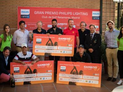 Santiago Tarrío gana el Gran Premio Philips Lighting de Golf Retamares con un birdie emocionante en el último hoyo