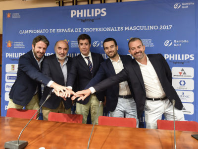 Presentada la semana del Philips Lighting Campeonato de España de Profesionales