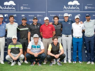 Marcos Pastor y Jordi García Pinto juegan esta semana en el Andalucía Valderrama Masters del Tour Europeo
