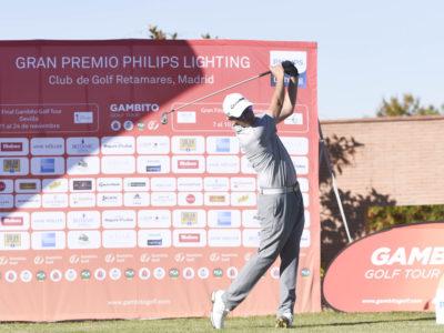 Fernando Adarraga y Jacobo Pastor comparten liderato en el Gran Premio Philips Lighting del Club de Golf Retamares