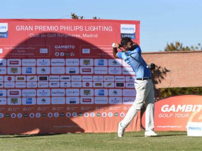Resumen en vídeo del Gran Premio Philips Lighting, con triunfo final de Santiago Tarrío en Golf Retamares