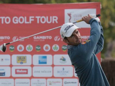 Emilio Cuartero toma la delantera por dos golpes a falta de la última ronda en la Gran Final de Zaudín Golf