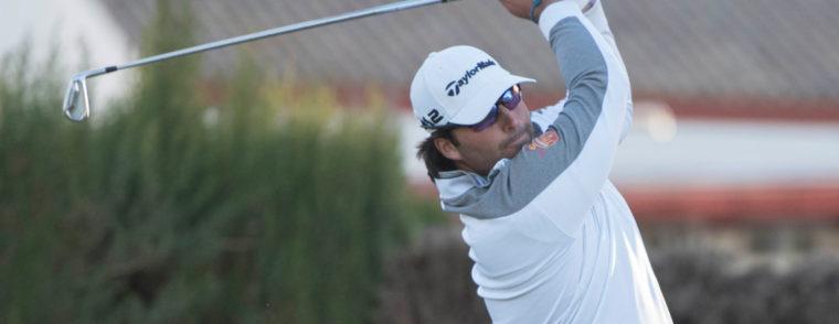 Mario Galiano domina por la mínima tras la primera ronda de la Gran Final del Gambito Golf Tour en Zaudín