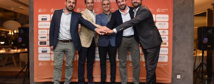 El cocktail de bienvenida y la primera ronda ponen en marcha Gran Final del Circuito Premium 2017 en Lanzarote Golf