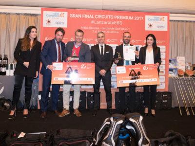 El éxito de la Gran Final del Circuito Premium 2017 en Lanzarote Golf, resumen de lo mejor en video