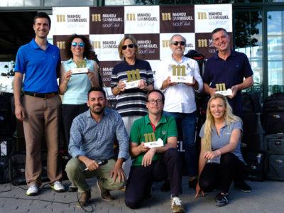 Palomarejos acogió una gran fiesta del golf toledano con la cuarta prueba del Circuito Mahou San Miguel Golf Club