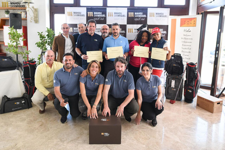 Santa Clara Golf de Granada da el pistoletazo de salida al emocionante Circuito Mahou San Miguel Golf Club 2018