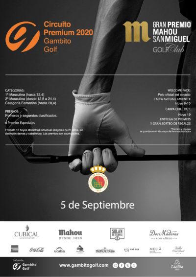 CIRCUITO PREMIUM 2020 - GRAN PREMIO MAHOU SAN MIGUEL GOLF CLUB - REAL CLUB DE GOLF LA HERRERIA