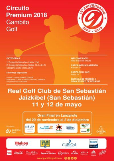 CIRCUITO PREMIUM 2018- REAL GOLF CLUB DE SAN SEBASTIÁN