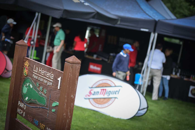 El 2 de junio, la experiencia cinco estrellas del Circuito Mahou San Miguel Golf Club en el RCG La Herrería