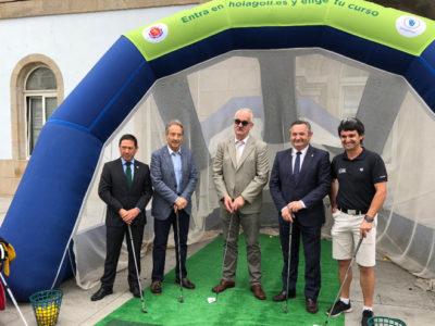 Presentado en la Diputación de Lugo el VI Ribeira Sacra Patrimonio de la Humanidad International Ladies Open