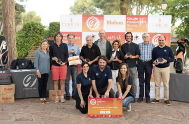 Los golfistas valencianos disfrutaron del paso del Circuito Premium 2018 por el Club de Golf Escorpión