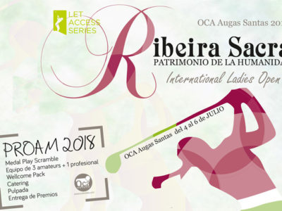 Inscripciones abiertas para el Pro-Am del 3 de julio del Ribeira Sacra International Ladies Open 2018