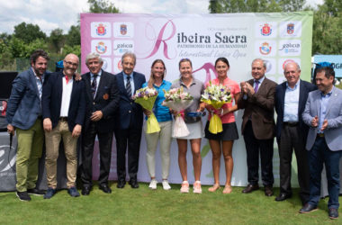 El equipo de Camilla Hedberg, campeón del Pro-Am del VI Ribeira Sacra International Ladies Open 2018
