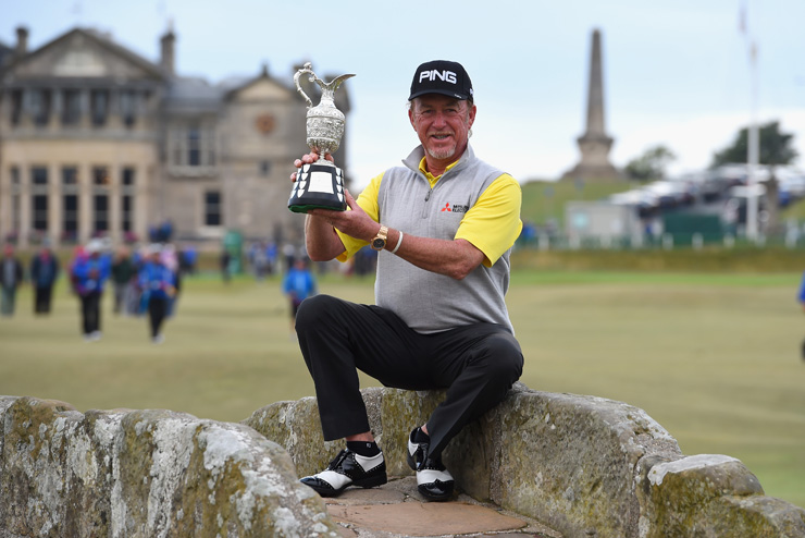 Miguel Ángel Jiménez gana su segundo Major, The Senior Open en Saint Andrews