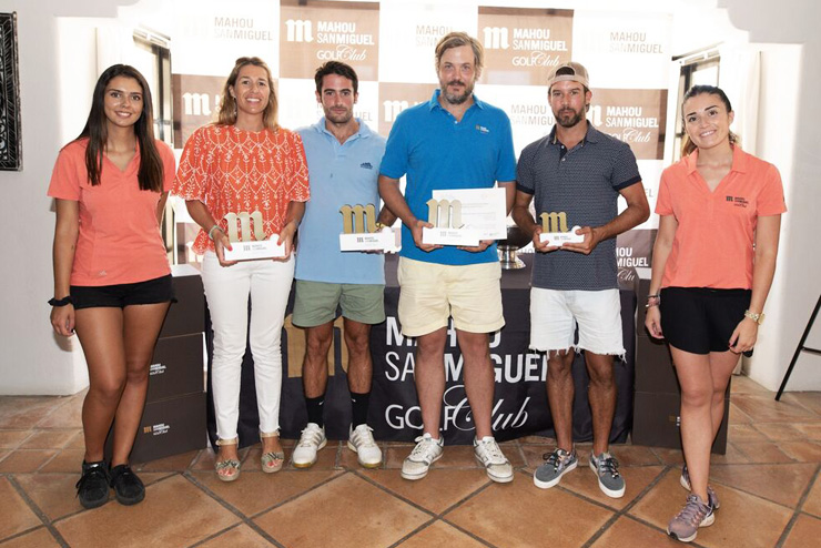 Los golfistas de Marbella disfrutaron del torneo Mahou San Miguel en Los Naranjos