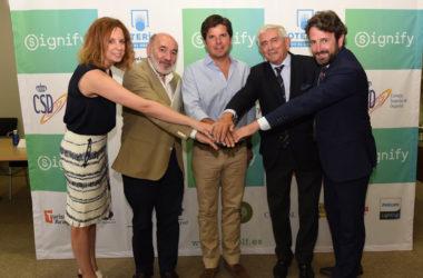 Presentación del Signify Campeonato de España de Profesionales de Augusta Golf