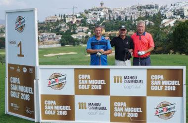 La Copa de Golf San Miguel 2018 dejó huella en Los Olivos de Mijas Golf, con la mirada en la gran final de Los Lagos