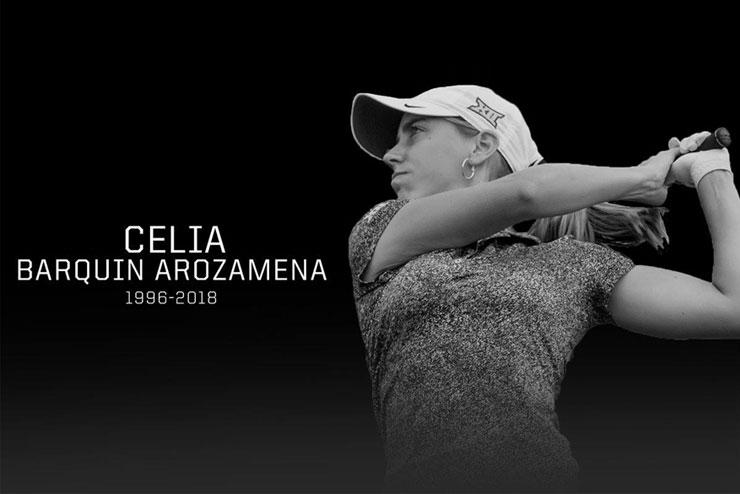 Muere asesinada Celia Barquín, recientemente ganadora del Campeonato Europeo Amateur