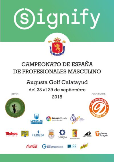Signify Campeonato España de Profesionales Masculino 2018