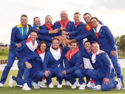 Europa gana la Ryder Cup 2018, con Sergio, Jon y el punto decisivo de Francesco Molinari