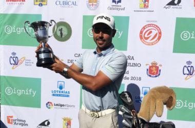 Sebastián García gana por segundo año consecutivo el Signify Campeonato de España