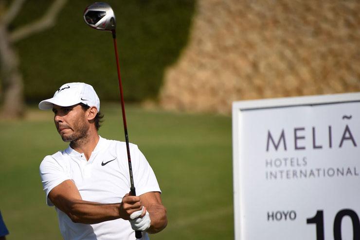 Rafa Nadal, protagonista de un gran XII Circuito Golf Meliá en Son Muntaner de Mallorca