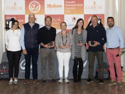 El Premium dio juego a los golfistas riojanos en El Campo de Logroño pese a las nubes