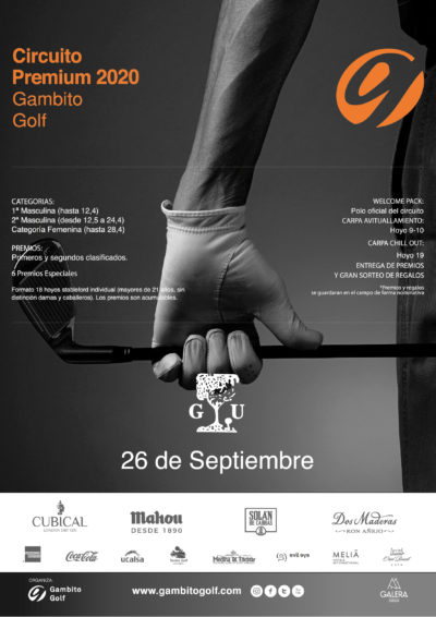 CIRCUITO PREMIUM 2020- CLUB GOLF ULZAMA