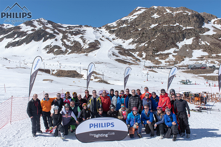 Philips Ski Experience by Gambito