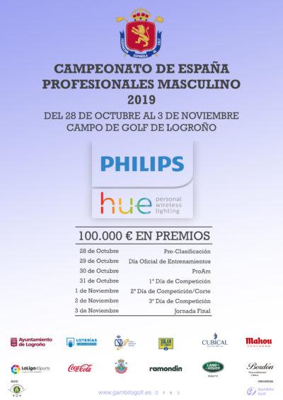 PHILIPS HUE CAMPEONATO ESPAÑA PROFESIONALES