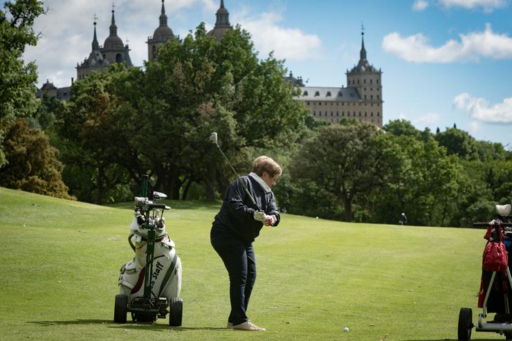 El viento y el frío no pudieron con las ganas de golf en La Herrería