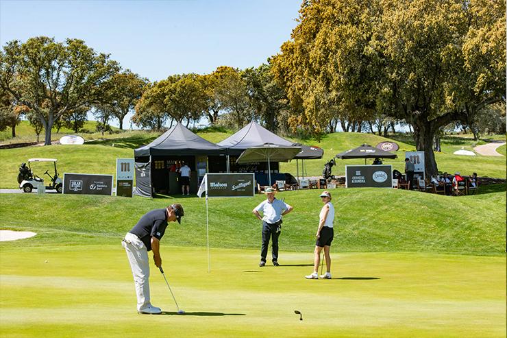 Gran afluencia de paricipantes en la segunda jornada de Mahou San Miguel Golf Club
