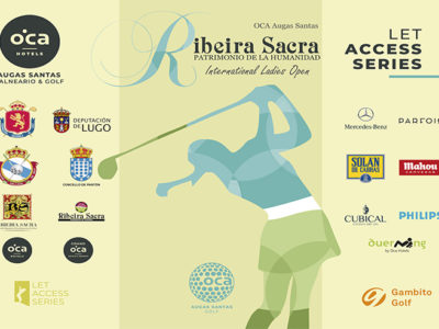 Las mejores golfistas del LET Access Series se reúnen en la séptima edición de torneo Ribeira Sacra Patrimonio de la Humanidad