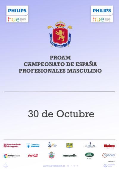 Pro Am Philips Hue Campeonato de España de Profesionales