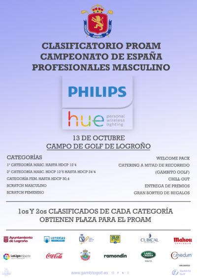 Clasificatorio ProAm Campeonato de España de Profesionales