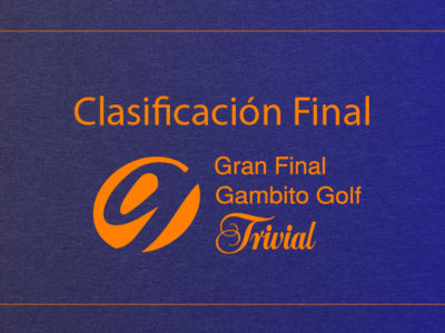 Clasificación Gran Final Gambito Trivial