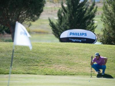 Cerca de 90 jugadores afrontan el Gran Premio Philips Lighting en Golf Retamares con la vista puesta en la Gran Final