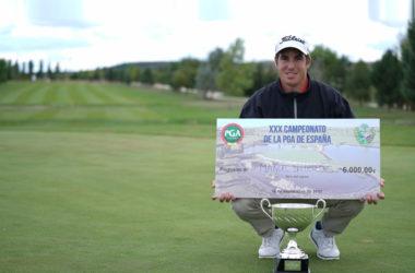 Play-off y victoria final para Manuel Ballesteros en el Campeonato de España PGA