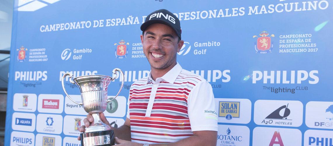 Sebastián García deslumbra con el título del Philips Lighting Campeonato de España de Profesionales 2017