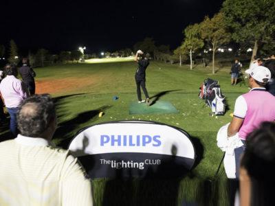 Inaugurado el primer hoyo iluminado con tecnología LED en España, con Philips Lighting