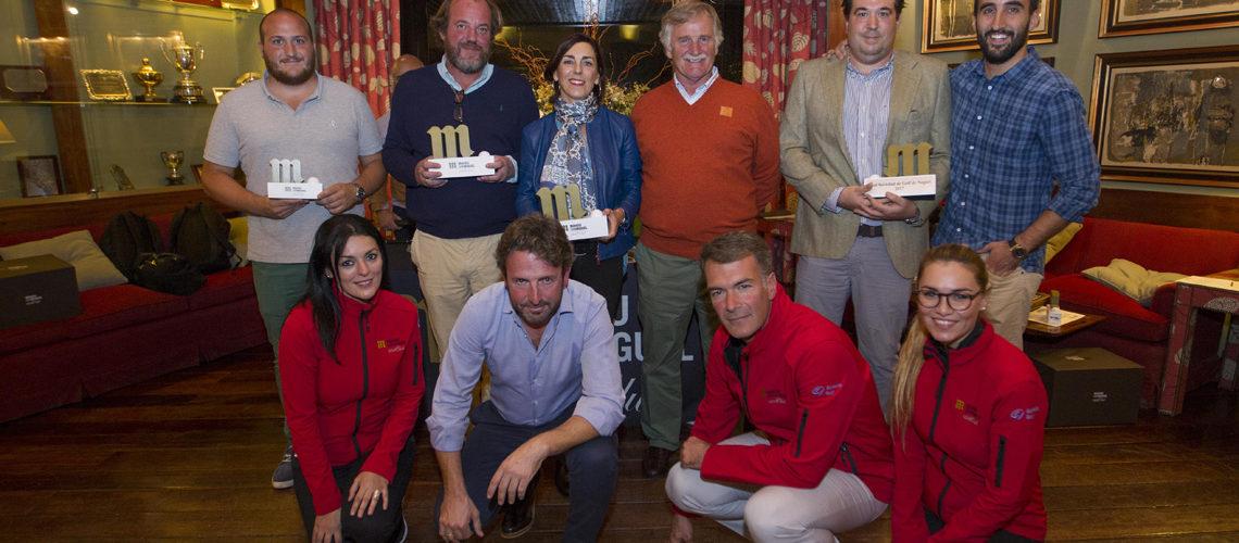 El Circuito Mahou San Miguel también conquista a los jugadores vascos de la Real Sociedad de Golf de Neguri
