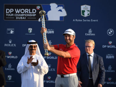 Jon Rahm termina su espectacular año ganando el DP World Tour Championship del Tour Europeo en Dubai