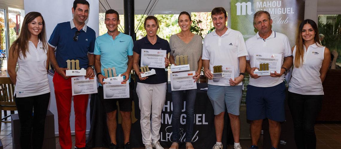 El Circuito Mahou San Miguel Golf Club pasa por el campo de Sergio García, el Club de Campo del Mediterráneo
