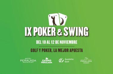Llega el IX Póker & Swing, la mejor apuesta, del 10 al 12 de Noviembre en Hotel Peralada Wine Spa & Golf